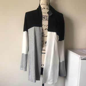 New with tags, open cardigan M